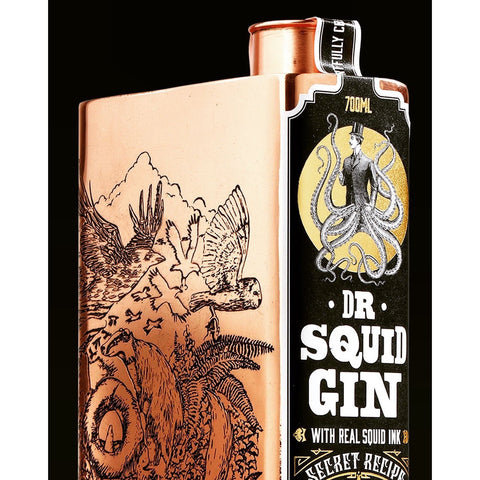 Caspyn Cornish Dr Squid Ink Gin - 70cl