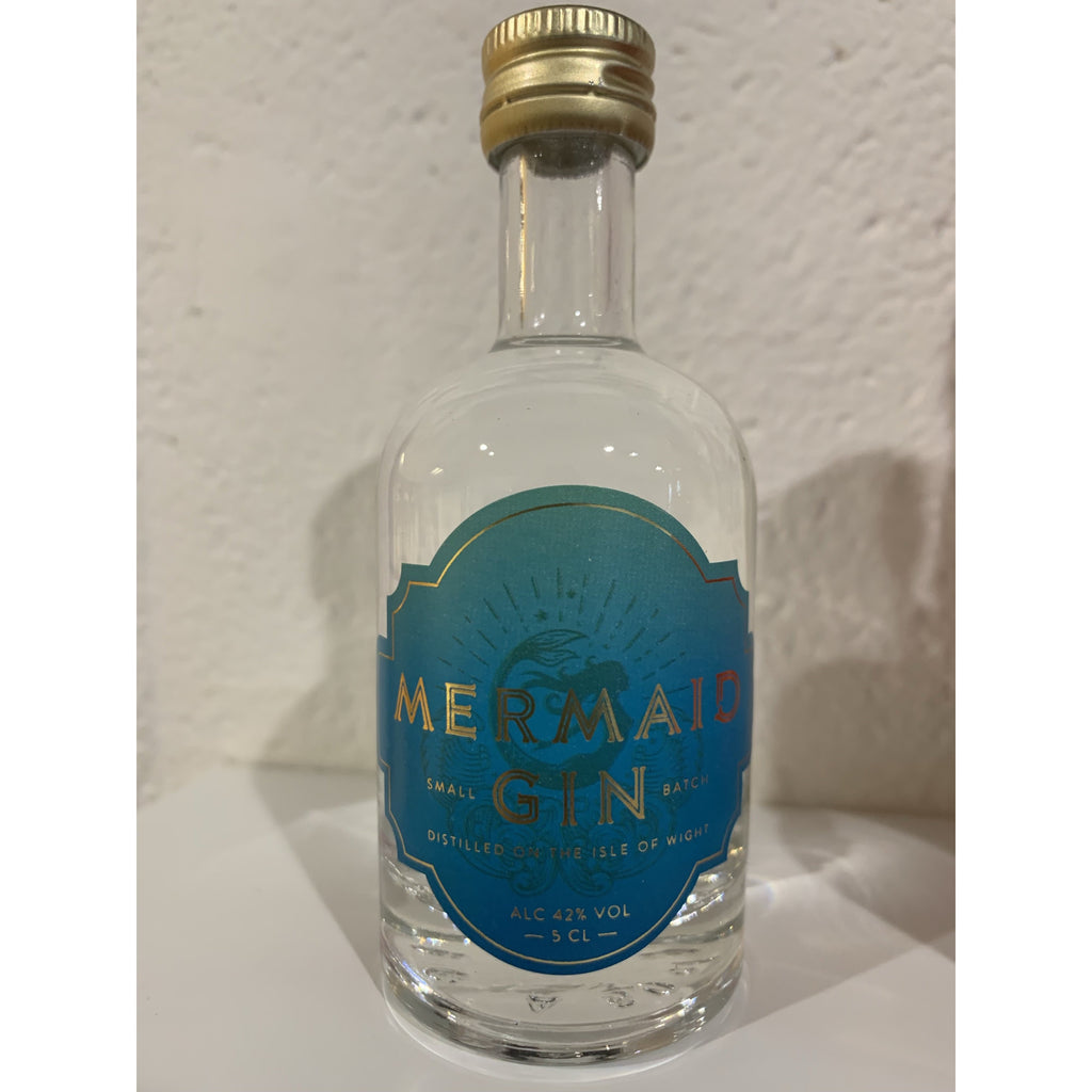 Wight Mermaids Gin Miniature - 5cl (new version)