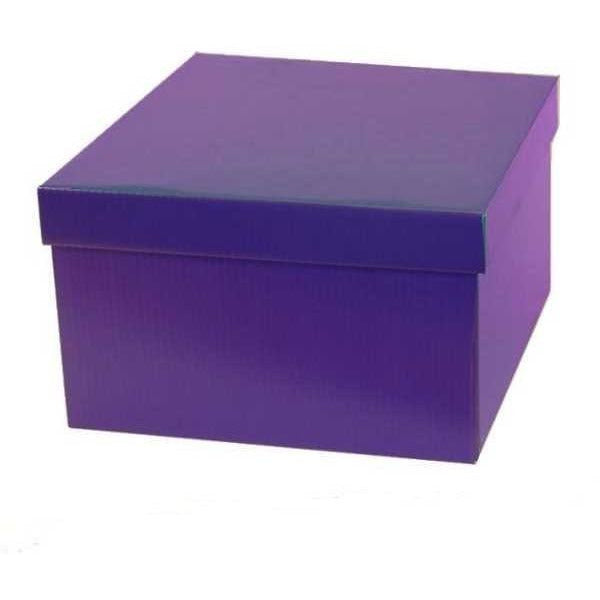 Large Purple Gift Box