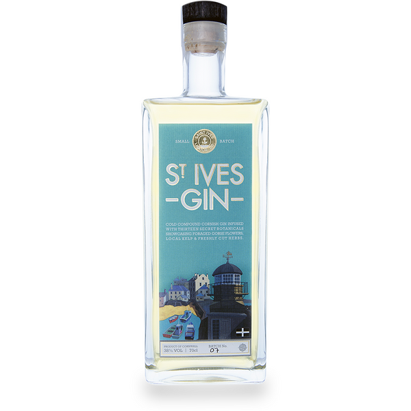 st ives gin 70cl the juniper club store. Black Bedroom Furniture Sets. Home Design Ideas