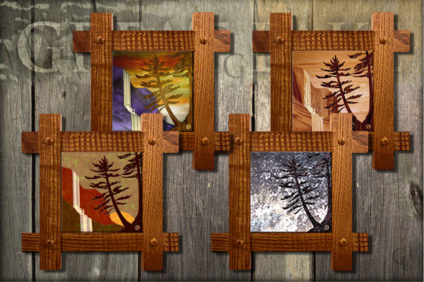 "Ceramic 6"" Tiles-Framed"