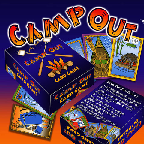 Camp Out Card Game - Signed First Edition - Only 300 Produced