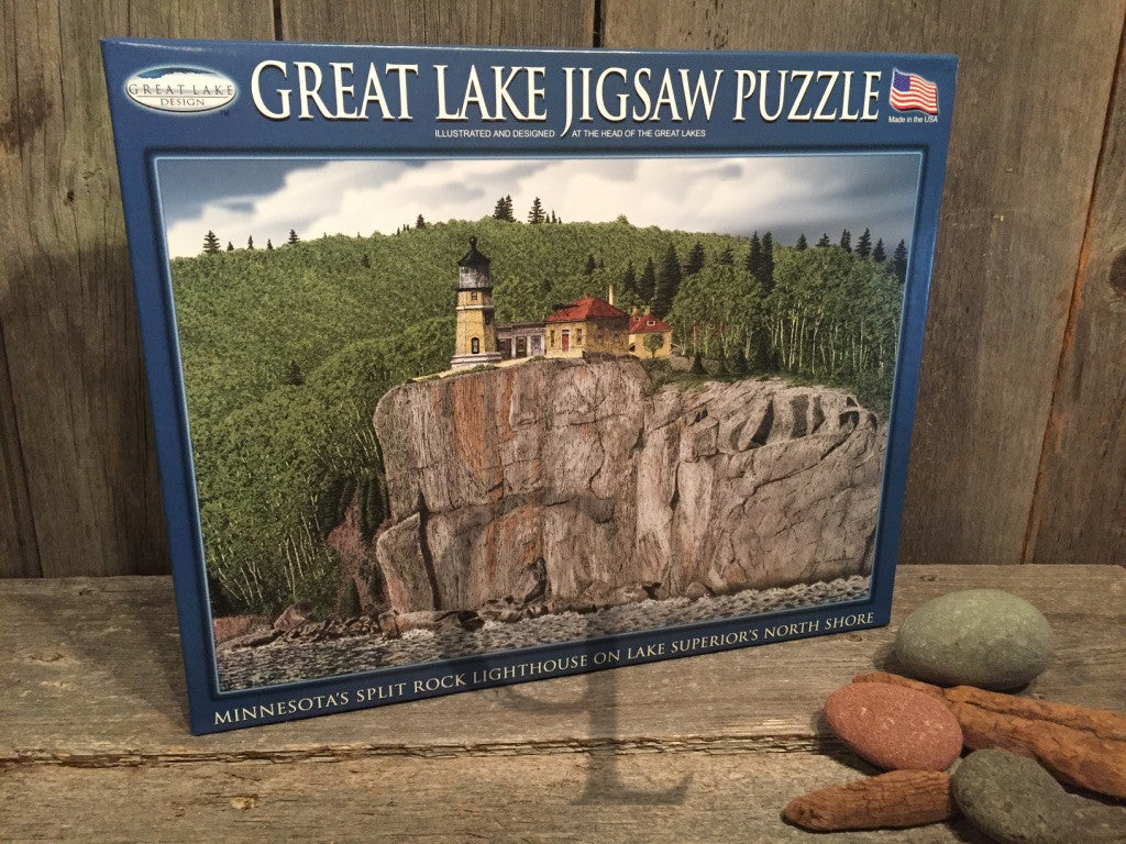 Split Rock Lighthouse 500-Pc. Jigsaw Puzzle