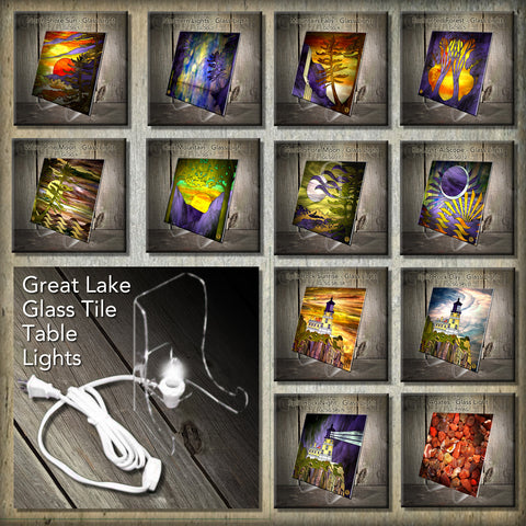 Sublimated Glass Tile Accent Lights