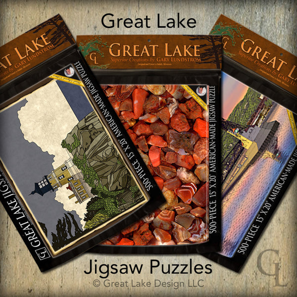 Great Lake Jigsaw Puzzles (Endangered Item)