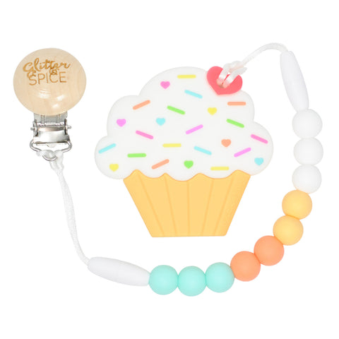 Creamsicle Cupcake Teether