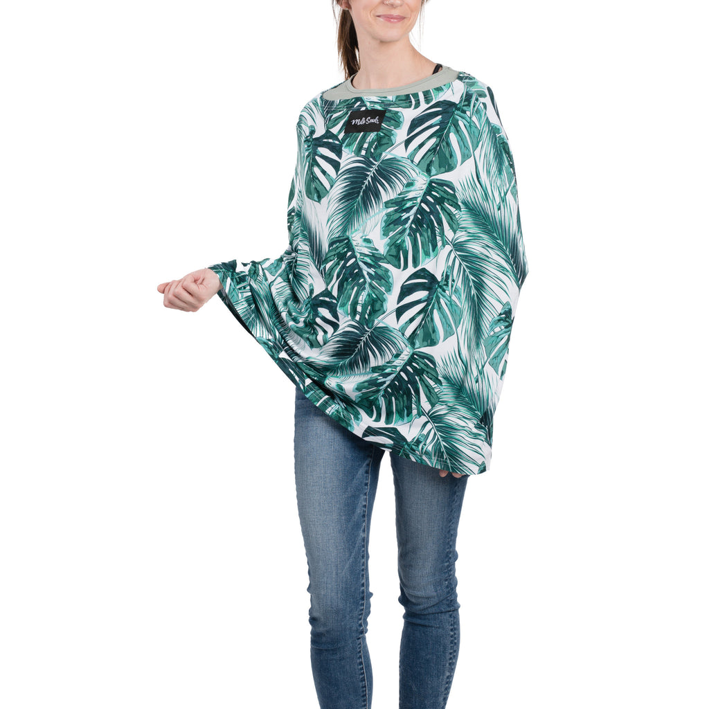Milk Snob Nursing Cover in Palm Beach