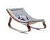 LEVO Rocker Walnut - Sweet Grey