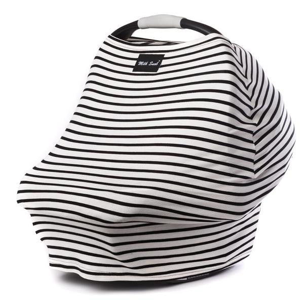 Milk Snob Nursing Cover in Milky Stripe