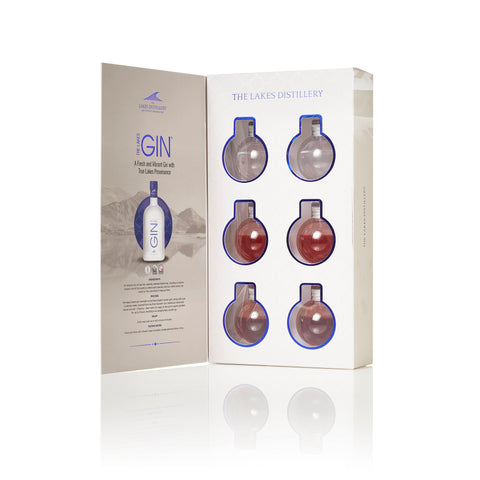 The Lakes Distillery Gin Baubles Gift Set