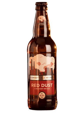 Consett Brewery Red Dust 4.5% abv