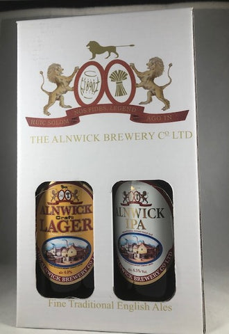 Alnwick Brewery 4 Beer Bottled Gift Pack