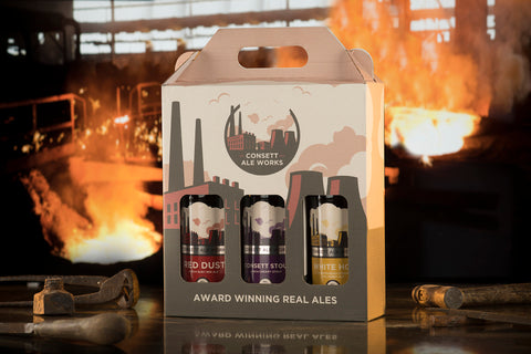 3 Beer Bottled Gift Pack (Consett Brewery)