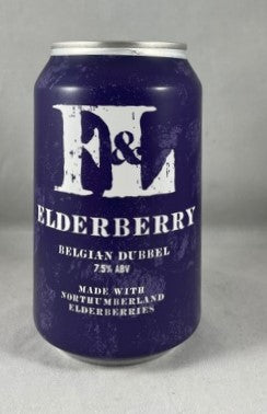 First & Last Brewery Elderberry 7.5%