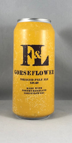 First & Last Brewery Gorseflower Foraged Pale Ale 5.0%
