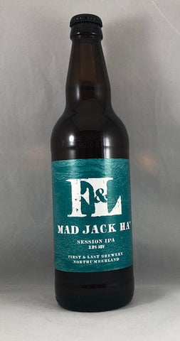 First & Last Brewery-Mad Jack Ha 3.8%
