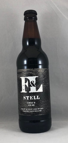 First & Last Brewery-Stell Stout 4.3%