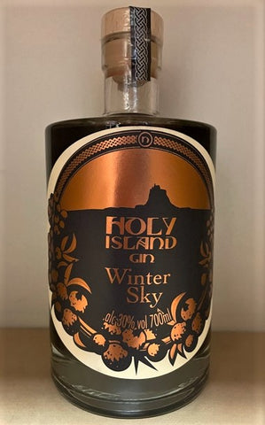 Holy Island  Gin - Winter Sky (30%abv)