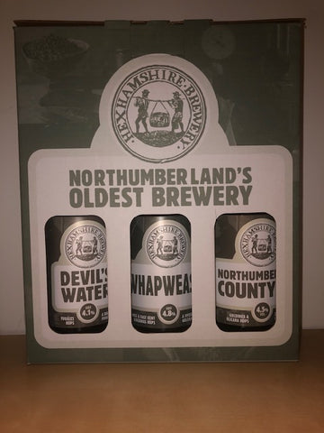 3 Beer Bottled Gift Pack ( Hexhamshire Brewery )