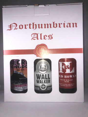 Northumbrian Ales 3 Beer Gift Box