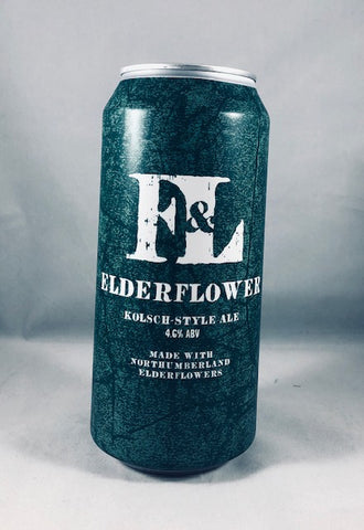 First & Last Brewery Elderflower Kolsch-Style Ale(4.6%)