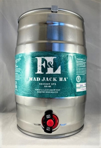 First & Last Brewery Mini Kegs 5Ltr (approx 8.8pints)