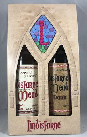 Lindisfarne Mead 35cl Bottle Gift Set