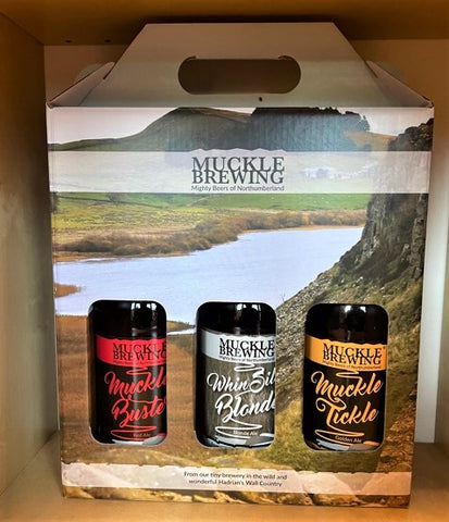 Muckle Brewery 3 Beer Bottled Gift Pack