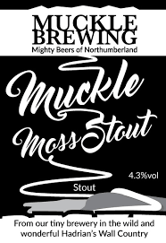 Muckle Brewing-Muckle Moss Stout 4.5%