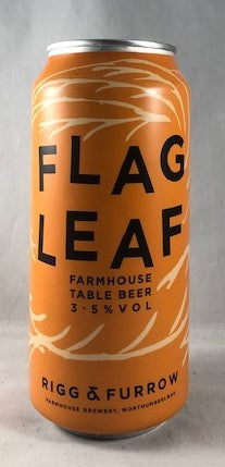 Rigg & Furrow Flag Leaf  (440ml can) - 3.5%