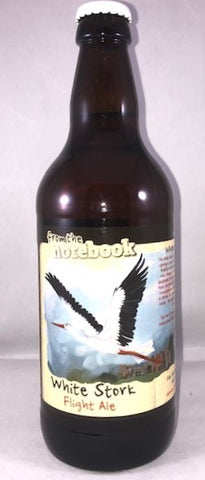 From the Notebook - White Stork (4.5%abv)