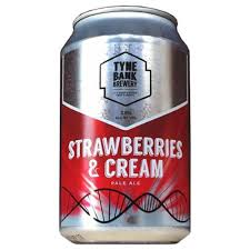 Tyne Bank Brewery Strawberries and Cream 3.8%