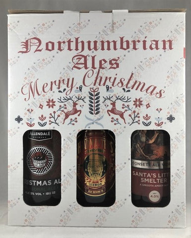 Christmas 3 Beer Gift Box