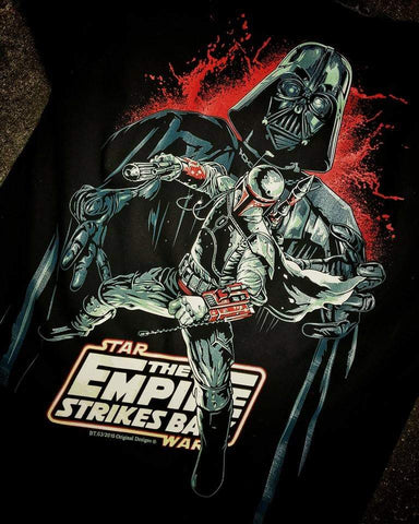 BoBa Fett - Darth Vador - The Empire Strike Back