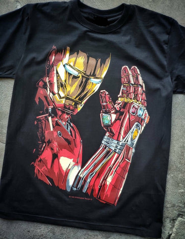 T-Shirt I am Iron Man - Tony Stark
