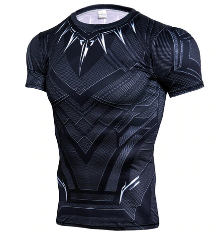 Black Panter Fitness T-Shirt