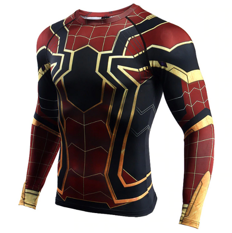 Spider-Man Fitness T-Shirt Long Sleeve
