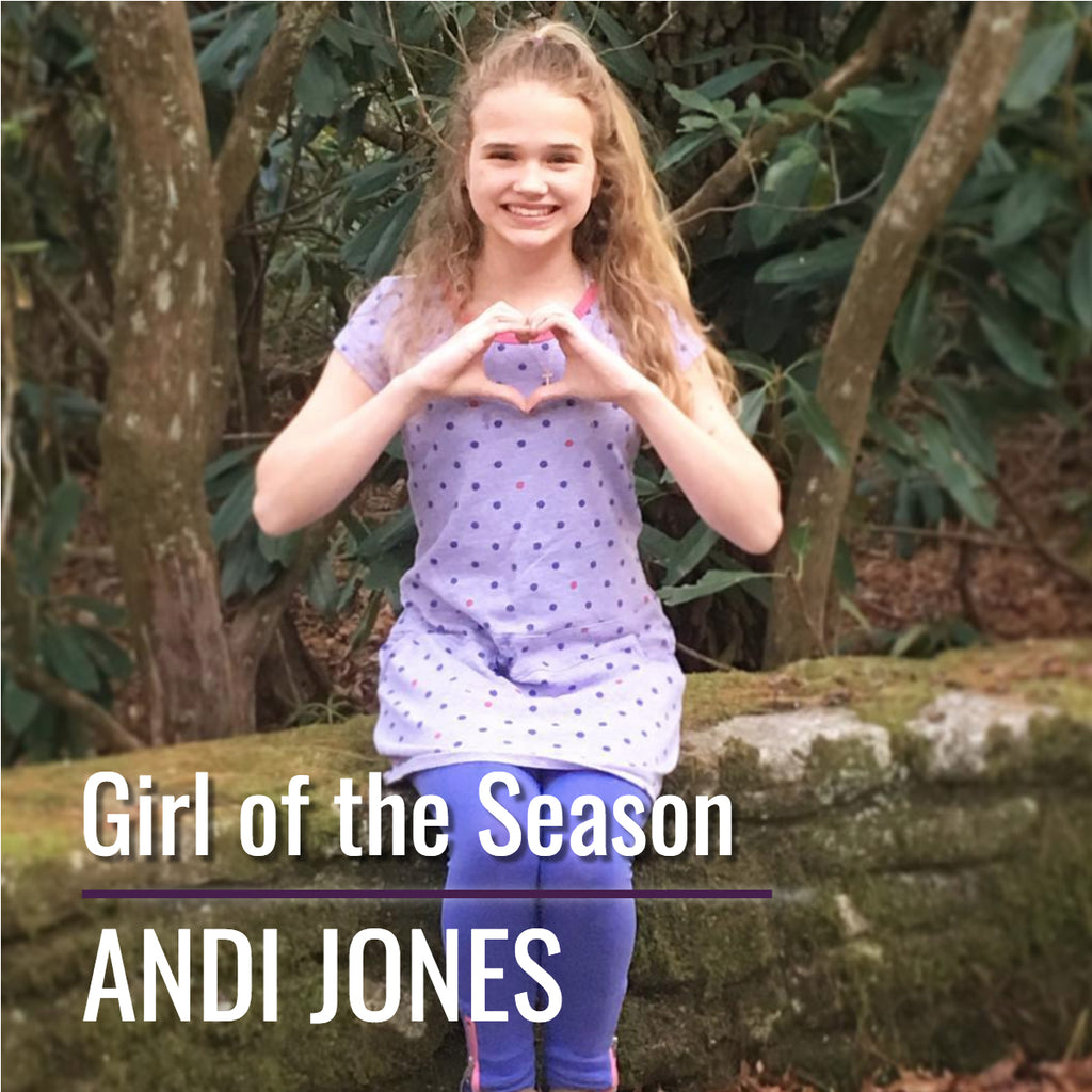 Girl of the Season - Andi Jones