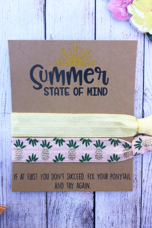 Summer State Of Mind Hair Tie Set