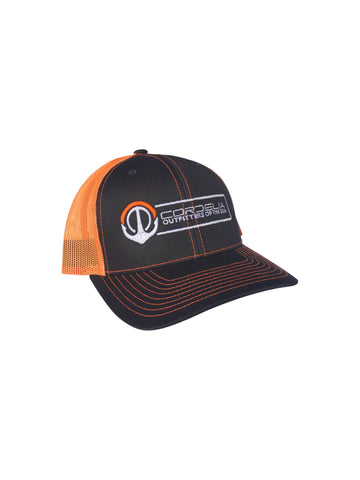 Cordelia Orange/Charcoal logo hat