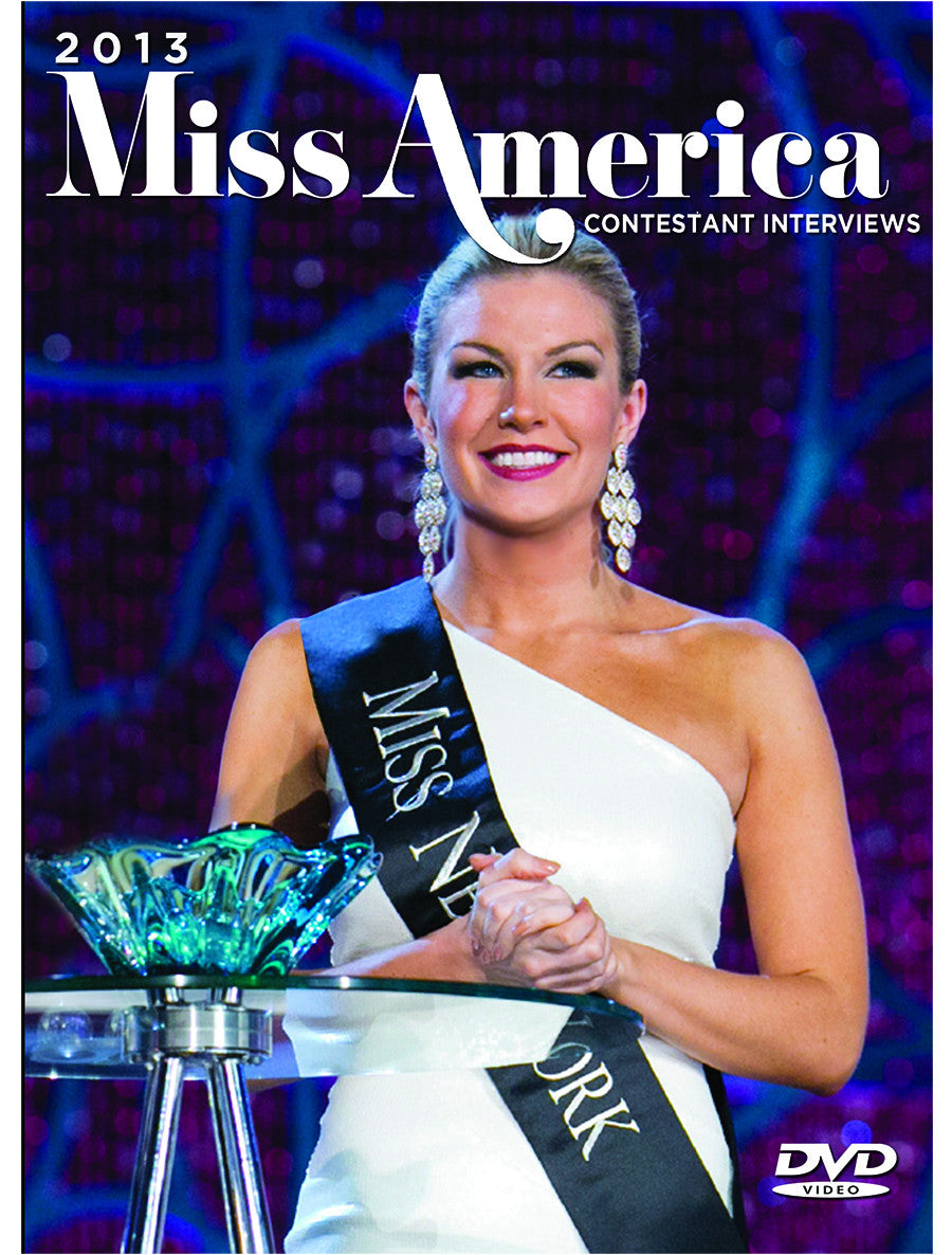 2013 Miss America Contestant Interviews