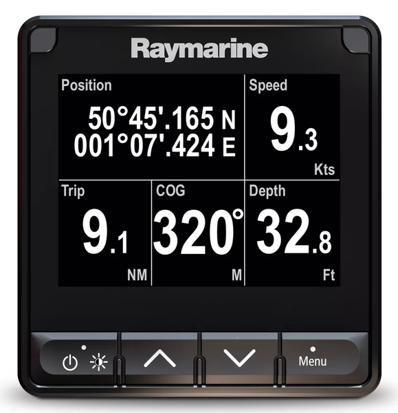 raymarine multifunction display sailing instrument