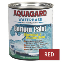 Aquagard Waterbased Anti-Fouling Bottom Paint - 1Qt - Red