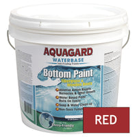 Aquagard Waterbased Anti-Fouling Bottom Paint - 2Gal - Red