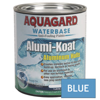 Aquagard II Alumi-Koat Anti-Fouling Waterbased - 1Qt - Blue