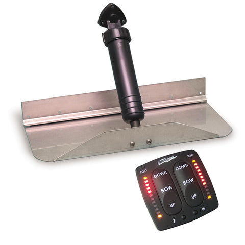 "Bennett Trim Tab Kit 18"" x 12"" w/EIC Switch"