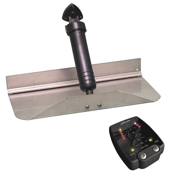 "Bennett Trim Tab Kit 12"" x 9"" w/Tab Position Indicator"