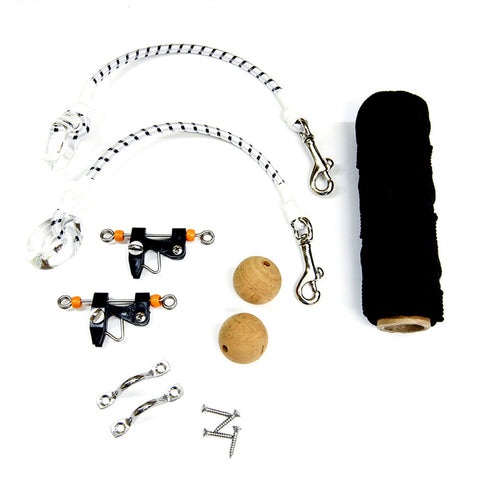 Tigress Economy Rigging Kit - Black Nylon