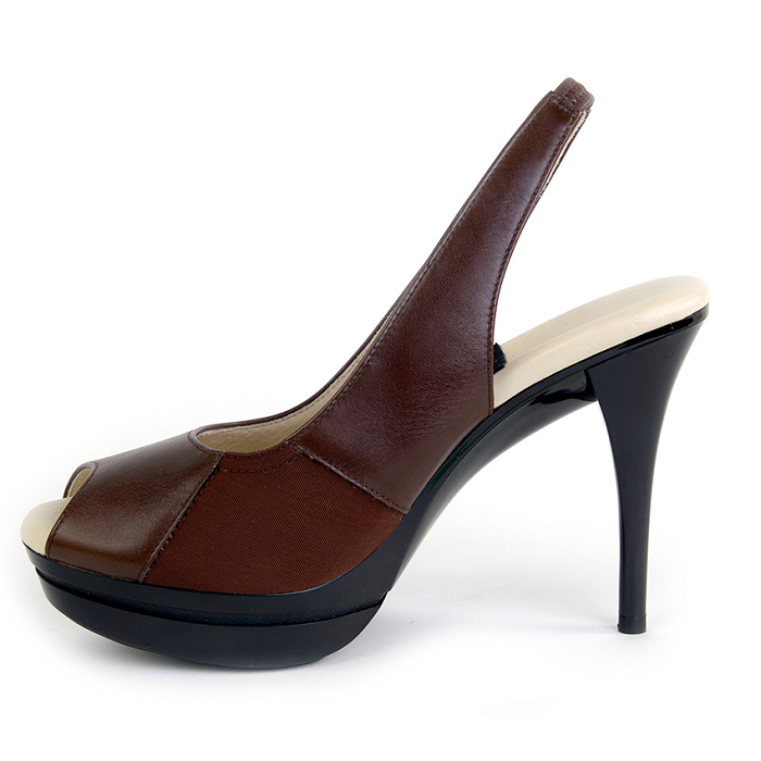 56e68a39d04 The Stacey (Brown) - Really Comfortable Heels Your Feet Will Love ...