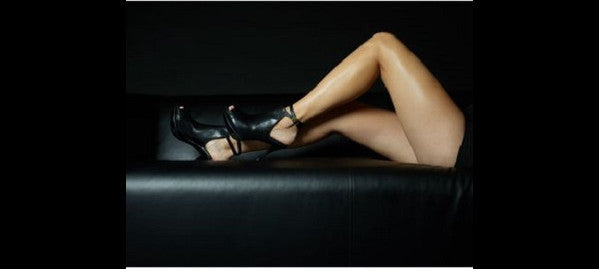 Really Comfortable Black Stiletto Booties
